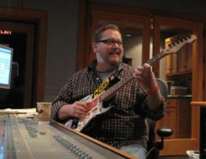 Max-T-Barnes in studio Nashville