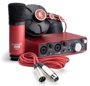 Focusrite Scarlett 2i2 Studio Recording Bundle