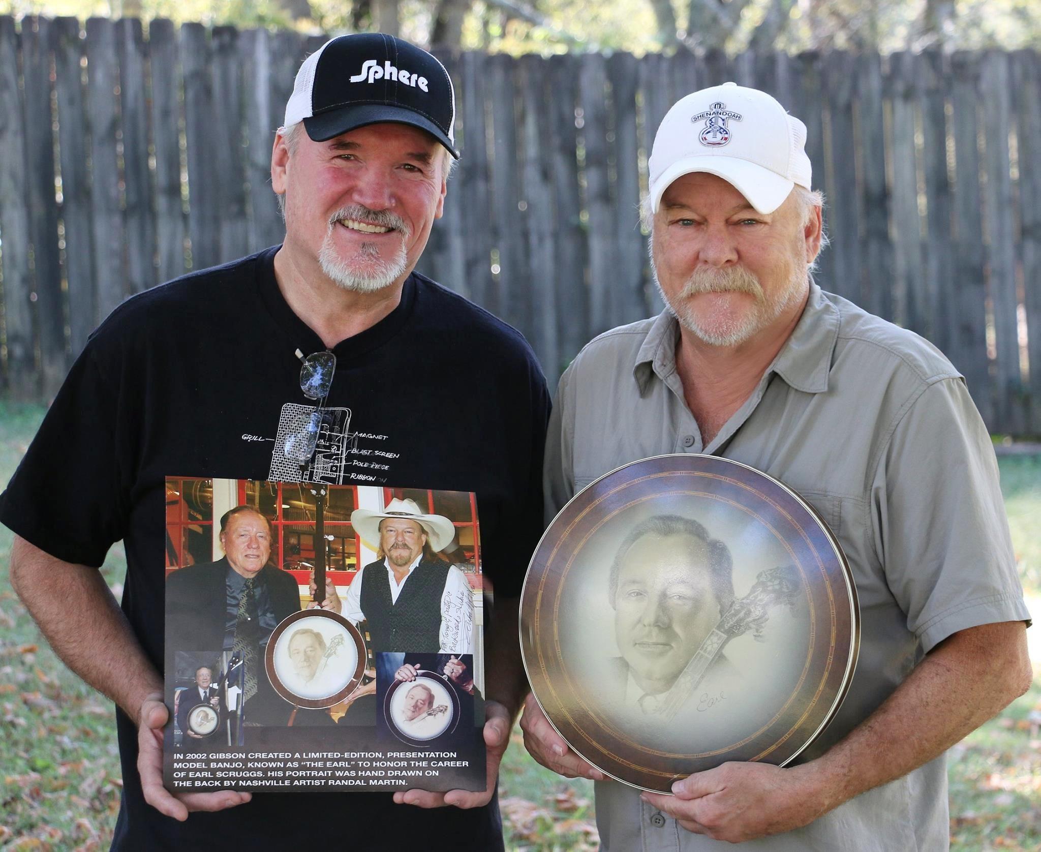 Tony & randy Martin Earl pic
