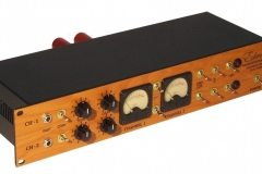 LE10 Stereo Microphone Preamp Front